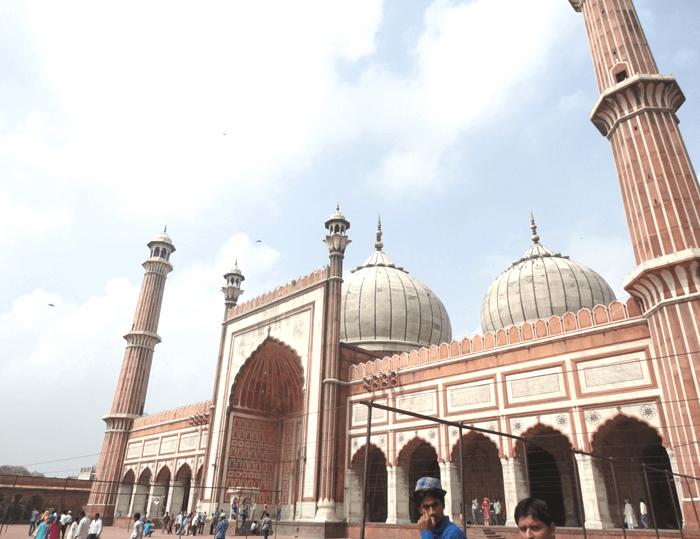 インド最大のモスク ジャママスジット