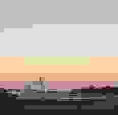シドニーハーバーの夕焼け
