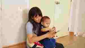 ベトナム:施設で子どもと交流