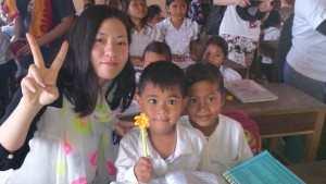 りぃさん りぃさん@カンボジアスタディツアー (3)(海外ボランティア)