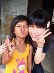 ぼらぷらの村の学校で日本語・英語教育ボランティア@カンボジアに参加されたいずみんさん