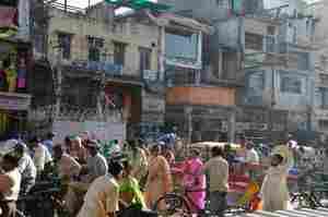 【街の風景】インド