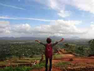 シギリヤの頂上からの見晴らしは最高!