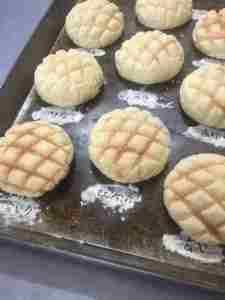 焼きたてメロンパン★