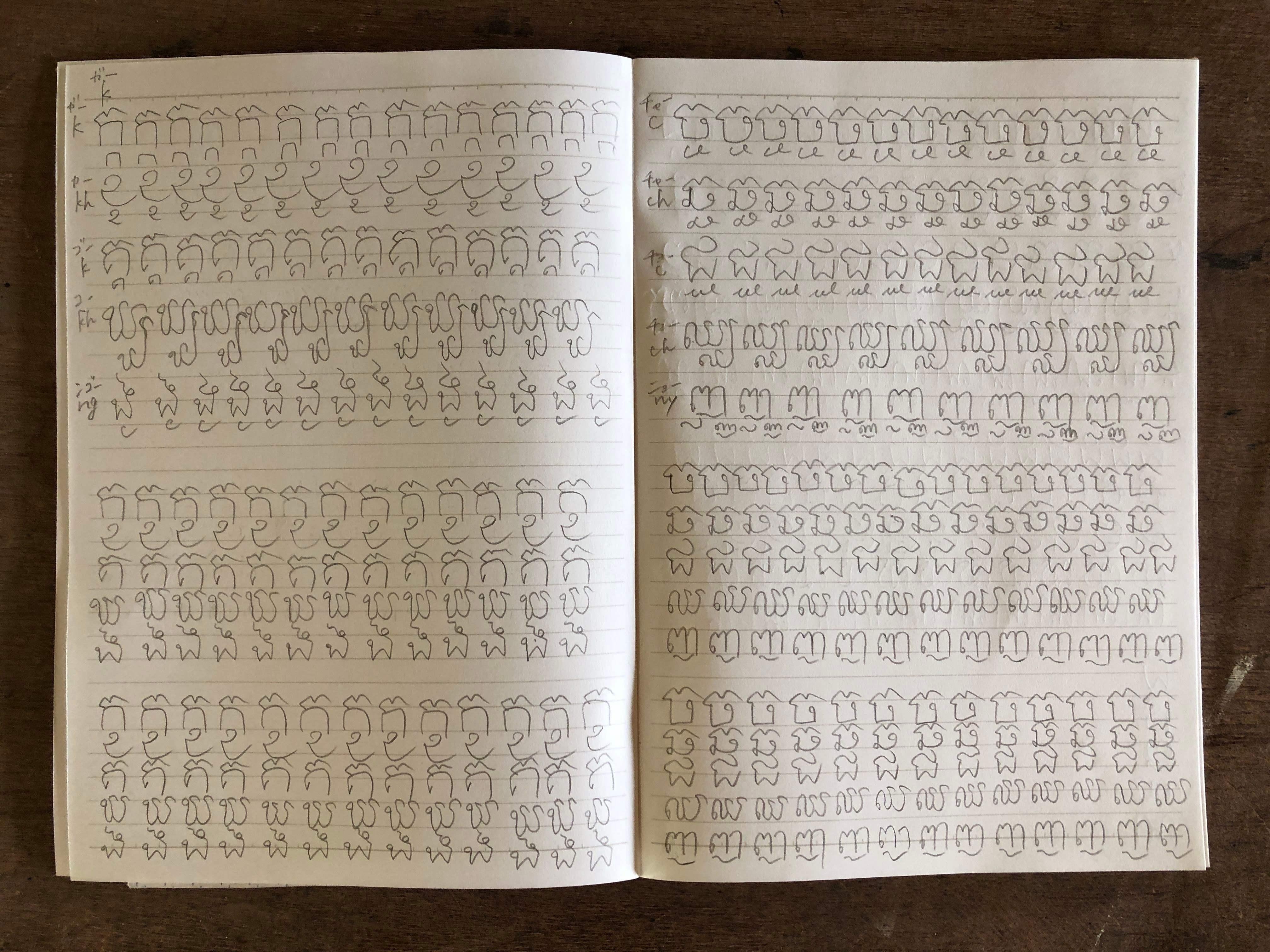 クメール語ノート