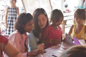 りぃさん@カンボジアスタディツアー (1)(海外ボランティア)