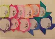 折り紙のメダル♪