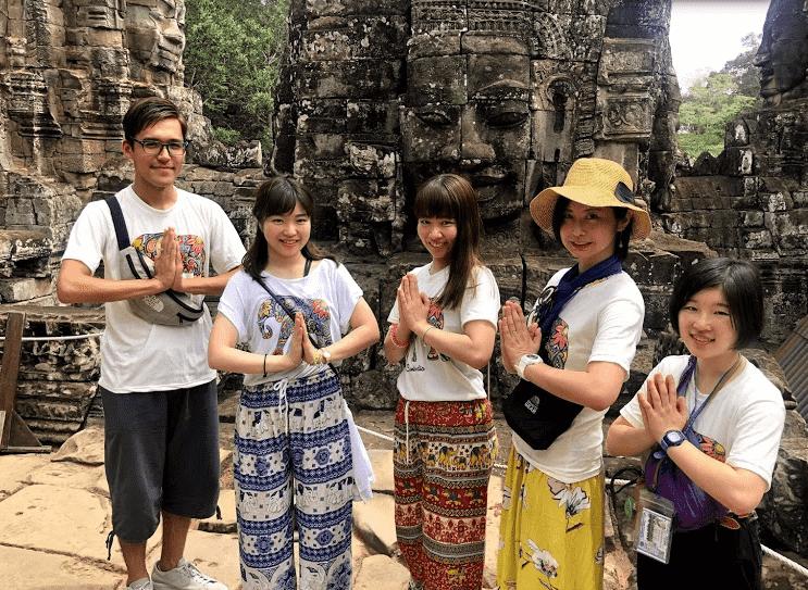 カンボジアスタ2日目1