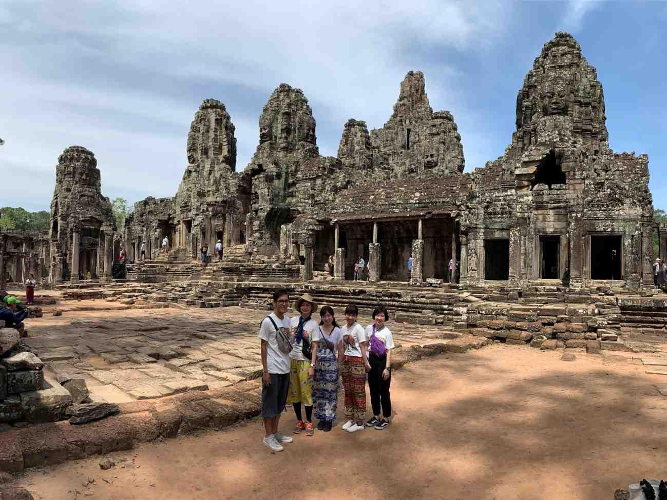 カンボジアスタ2日目2