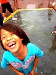 フィリピンの子どもの笑顔