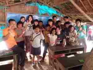 カンボジア村の小学校で日本語・英語教育ボランティア(海外ボランティア)