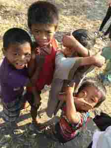 スラムの子どもたち@フィリピンの写真