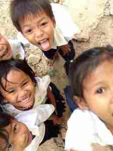 無邪気な子どもたち@カンボジア(海外ボランティア)