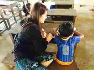 一緒にお勉強@カンボジア(海外ボランティア)