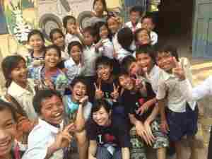 笑顔満載@カンボジア(海外ボランティア)
