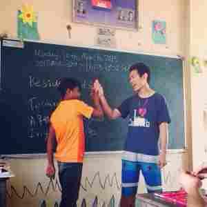 よくできました?!@カンボジアの村(海外ボランティア)